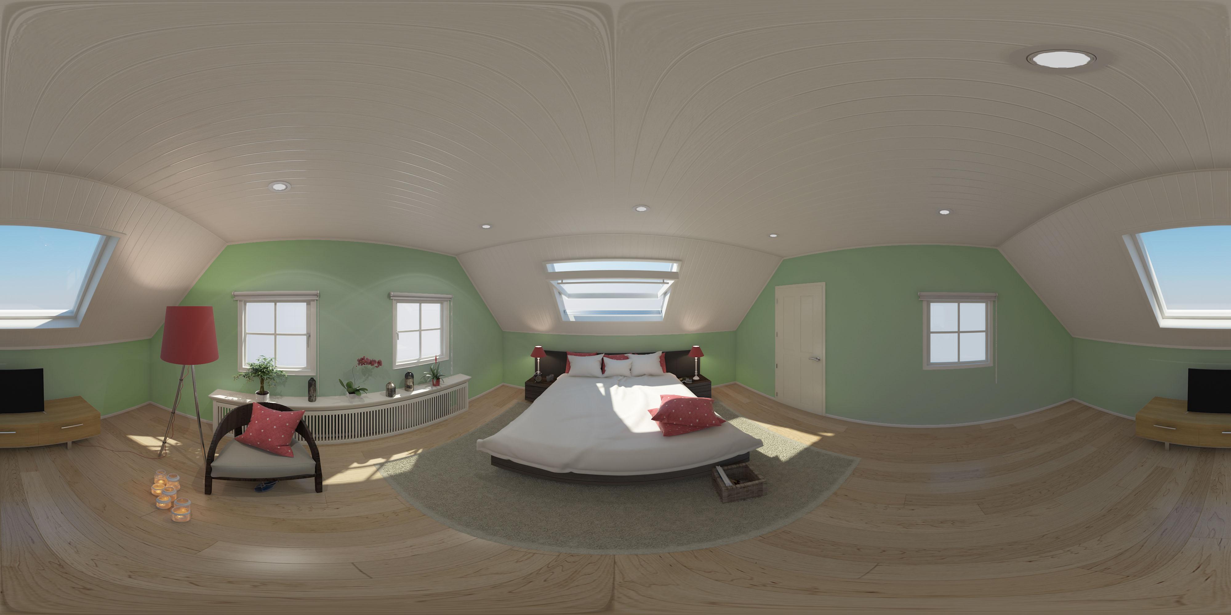 360° Bedroom
