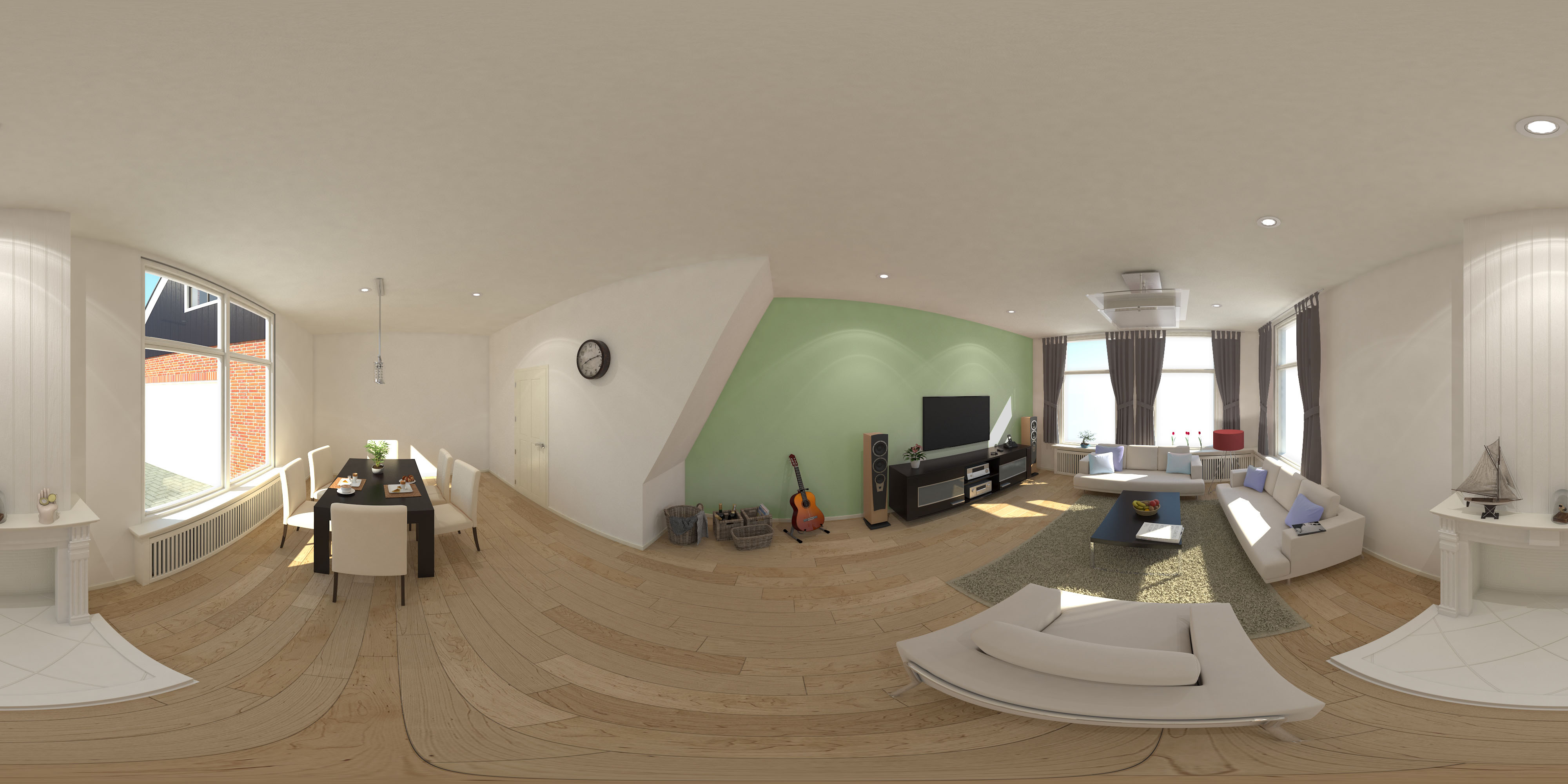 360° Living Room